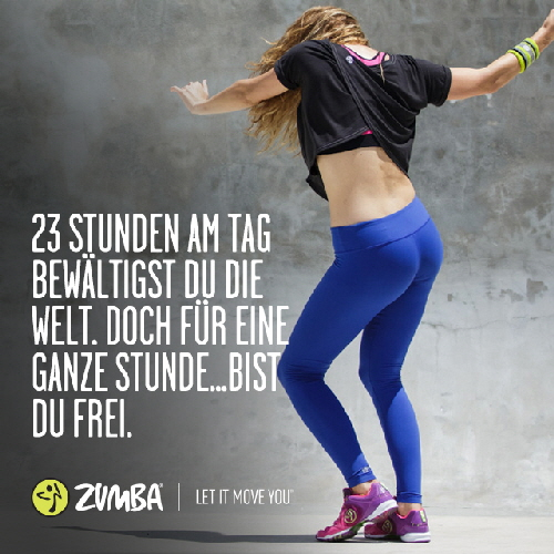Zumba Fitness Party am Bodensee, Markdorf beim Hartwig